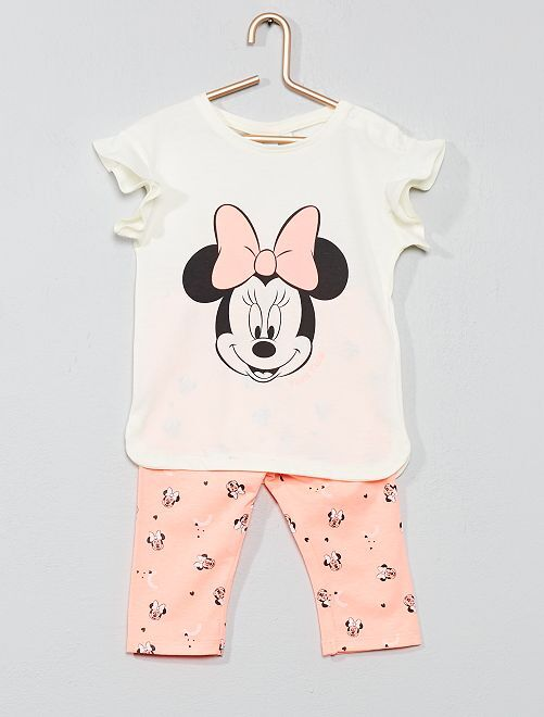Maglietta + leggings 'Minnie'                             ROSA Neonata