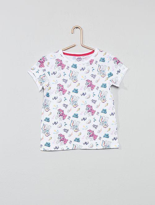Maglietta 'Little Pony'                             bianco Infanzia bambina