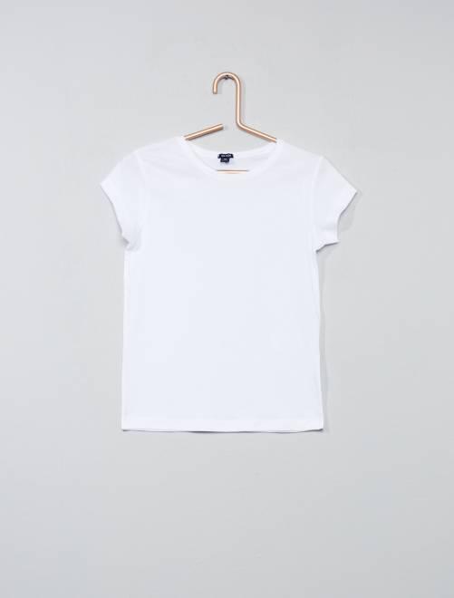 Maglietta maniche corte                             bianco