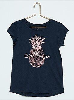 Magliette - Maglietta maniche corte cotone con stampa