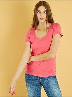 Donna dalla 38 alla 52 - Maglietta maniche corte - Kiabi