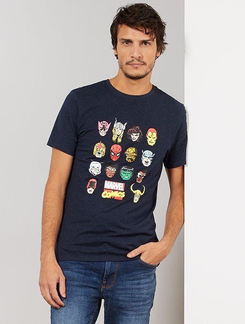 Maglietta 'Marvel'                                         BLU