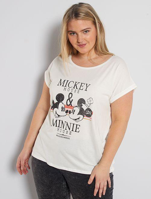 Maglietta 'Minnie' della 'Disney'                                                                                                                                         BIANCO