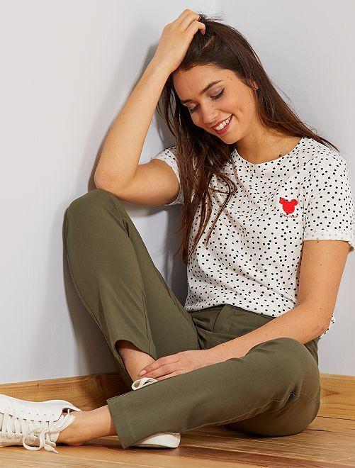 Maglietta Paperina 'Disney'                                                                                         BIANCO Donna