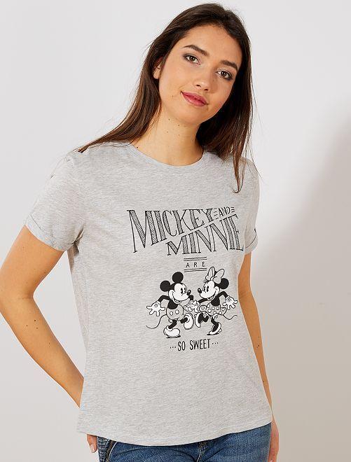 Maglietta Paperina 'Disney'                                                                                         GRIGIO Donna