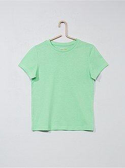 Magliette maniche corte - Maglietta puro cotone - Kiabi