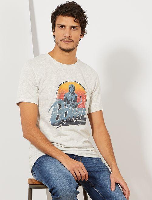 Maglietta 'Red Hot Chili Peppers'                                         GRIGIO