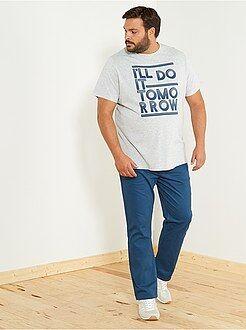 Magliette con stampa - Maglietta regular con stampa - Kiabi