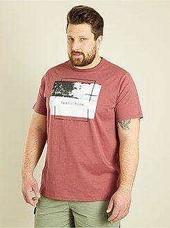 T-shirt, magliette - Maglietta regular stampa 'beach' - Kiabi