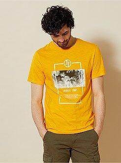 Magliette - Maglietta regular stampa fantasia - Kiabi
