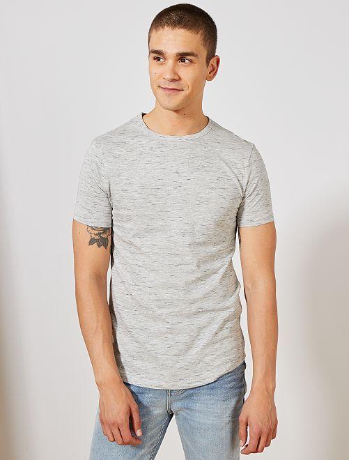 Maglietta slim eco-design                                                                             GRIGIO Uomo