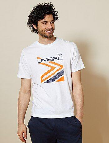 Maglietta sport cotone 'Umbro' - Kiabi
