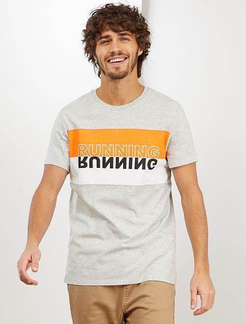 Maglietta sport 'eco-design'                                         GRIGIO