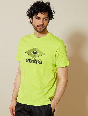 Maglietta sport stampa 'Umbro' - Kiabi