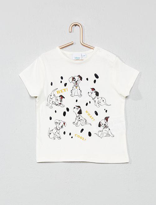 Maglietta stampa 'Disney Baby'                                         BIANCO Neonato