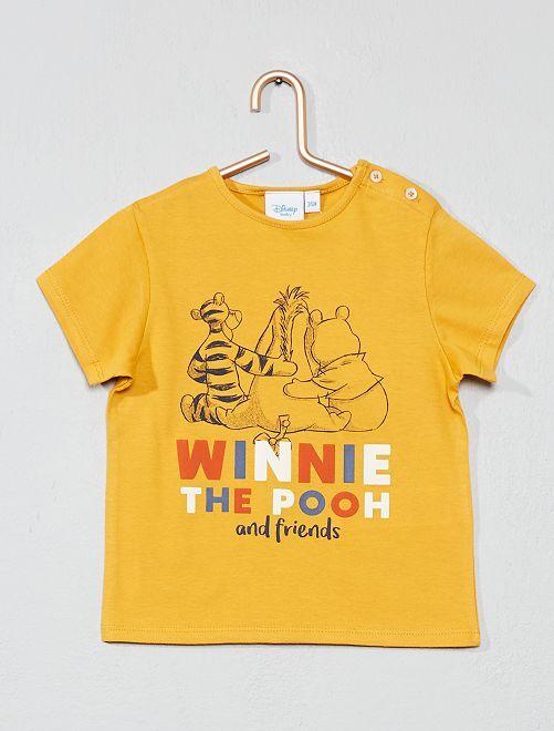 Maglietta stampa 'Disney Baby'                                                     GIALLO Neonato