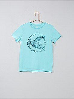 T-shirt, polo - Maglietta stampa fantasia - Kiabi