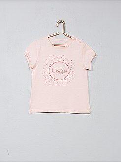 Bambina 0-36 mesi - Maglietta stampa fantasia - Kiabi