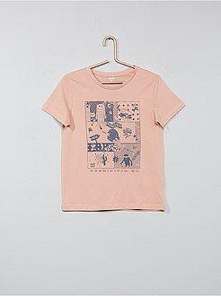 Maglietta stampa fantasia - Kiabi