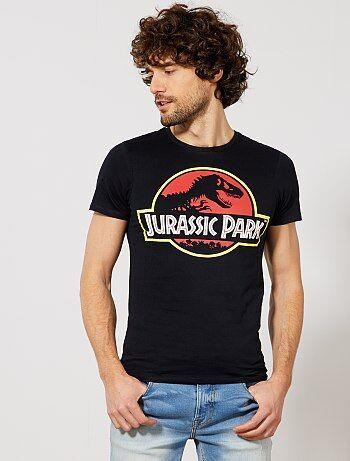 Uomo dalla S alla XXL - Maglietta stampa 'Jurassic Park' - Kiabi