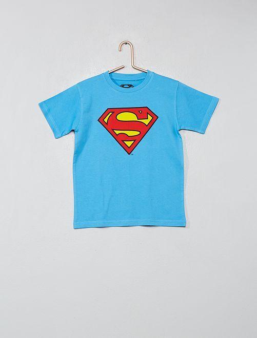Maglietta stampa 'Superman'                             BLU Infanzia bambino