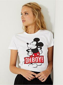 T-shirt, magliette - Maglietta stampa 'Topolino' - Kiabi