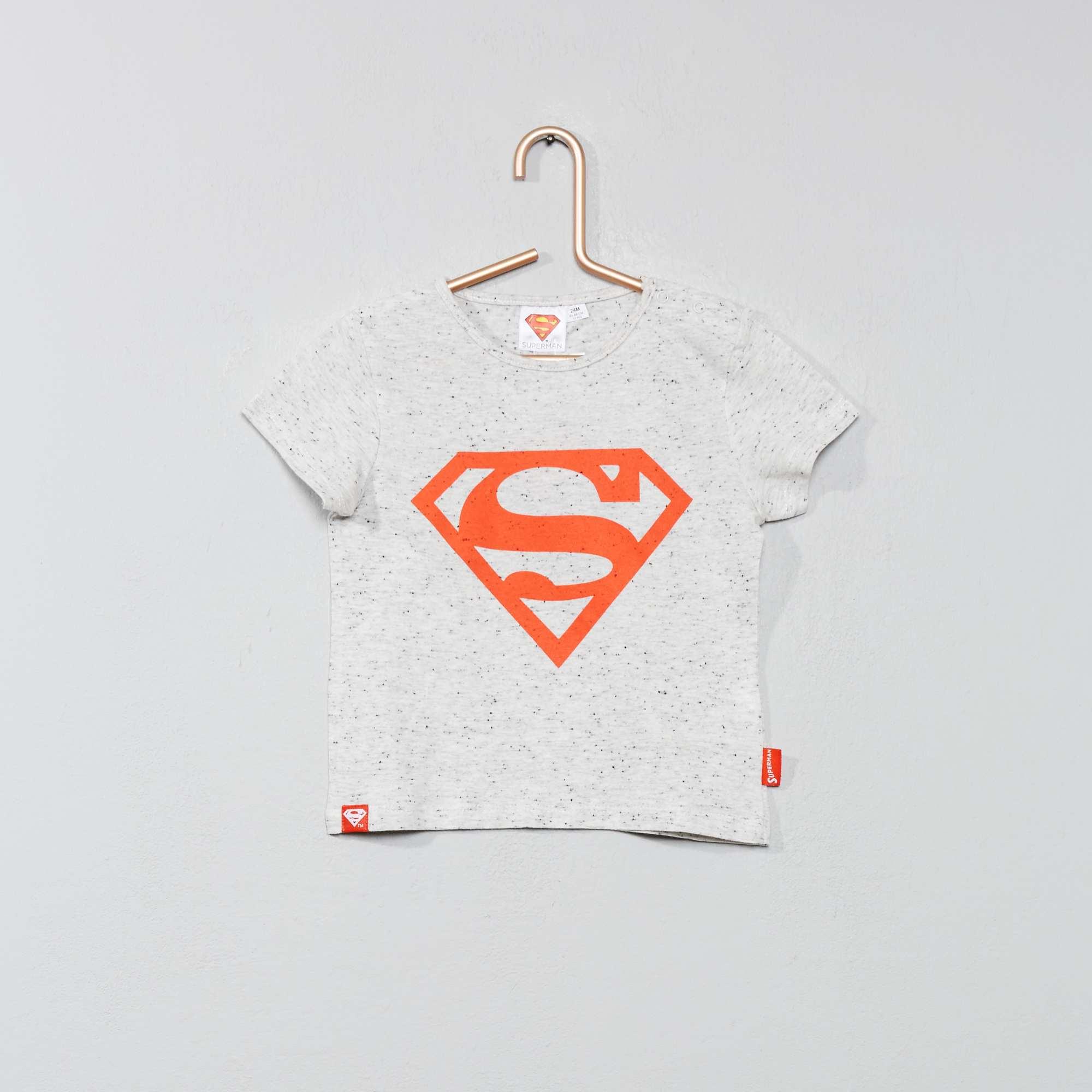 00€ Maglietta 'superman' Neonato 7 Kiabi Beige YDEHW29I