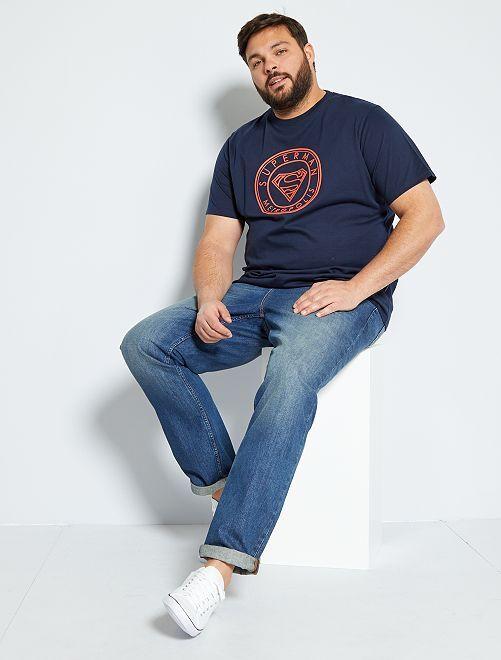 Maglietta 'Superman'                             BLU