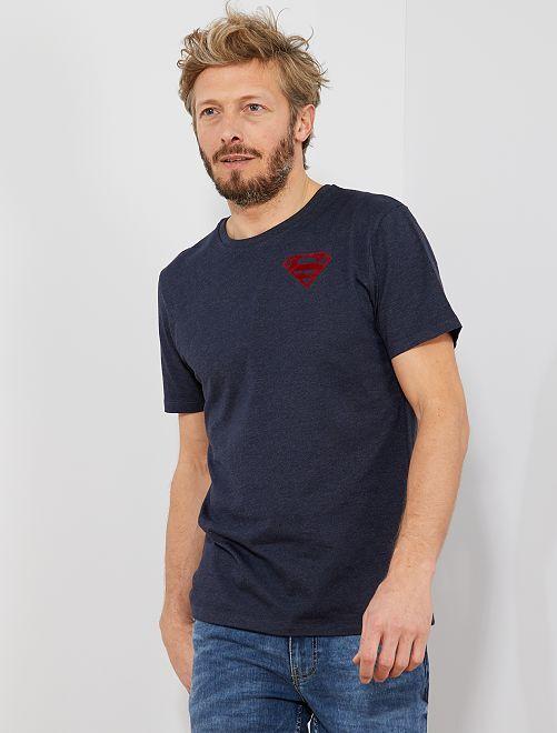 Maglietta 'Superman'                             BLU Uomo
