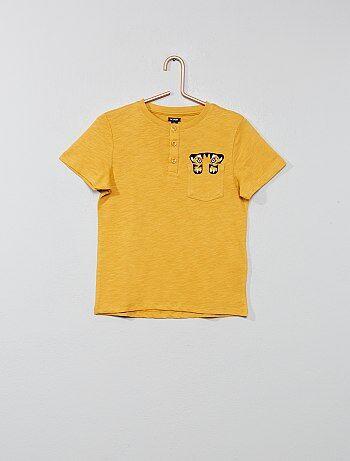 0dc4b86944 T-shirt e polo Bambino | giallo | Kiabi