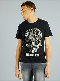 Maglietta 'The Walking Dead' Walker Skull