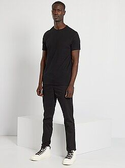 T-shirt, magliette - Maglietta tinta unita jersey - Kiabi