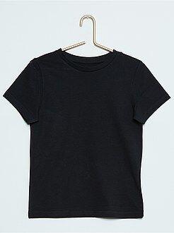 Magliette maniche corte - Maglietta tinta unita puro cotone