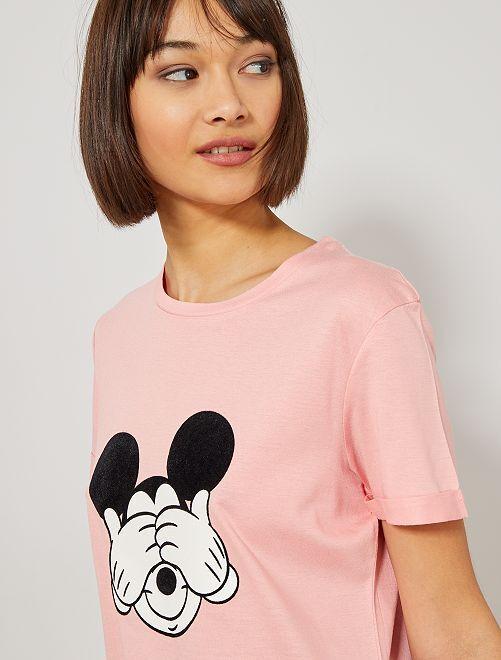 Maglietta Topolino 'Disney'                                                                 ROSA Donna