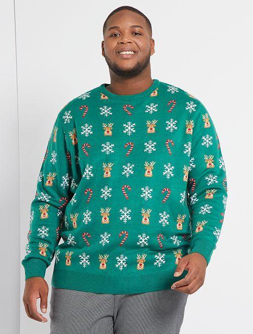 Maglione di Natale                             VERDE