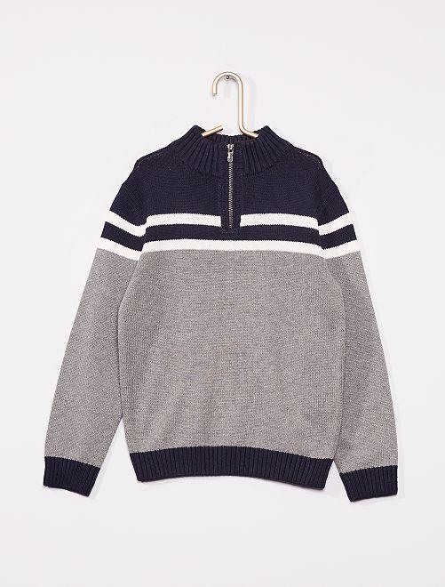 Maglione eco-sostenibile                                                     BLU