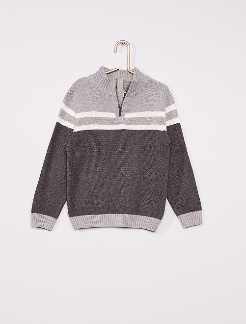 Maglione eco-sostenibile                                                     grigio
