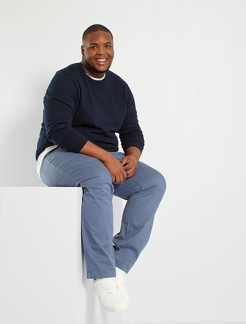 Maglione leggero eco-sostenibile                                         BLU