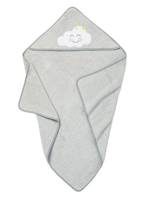 Mantella da bagno in spugna                                                     grigio