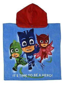 Asciugamani - Mantella da bagno 'PJ Masks - Super pigiamini' - Kiabi