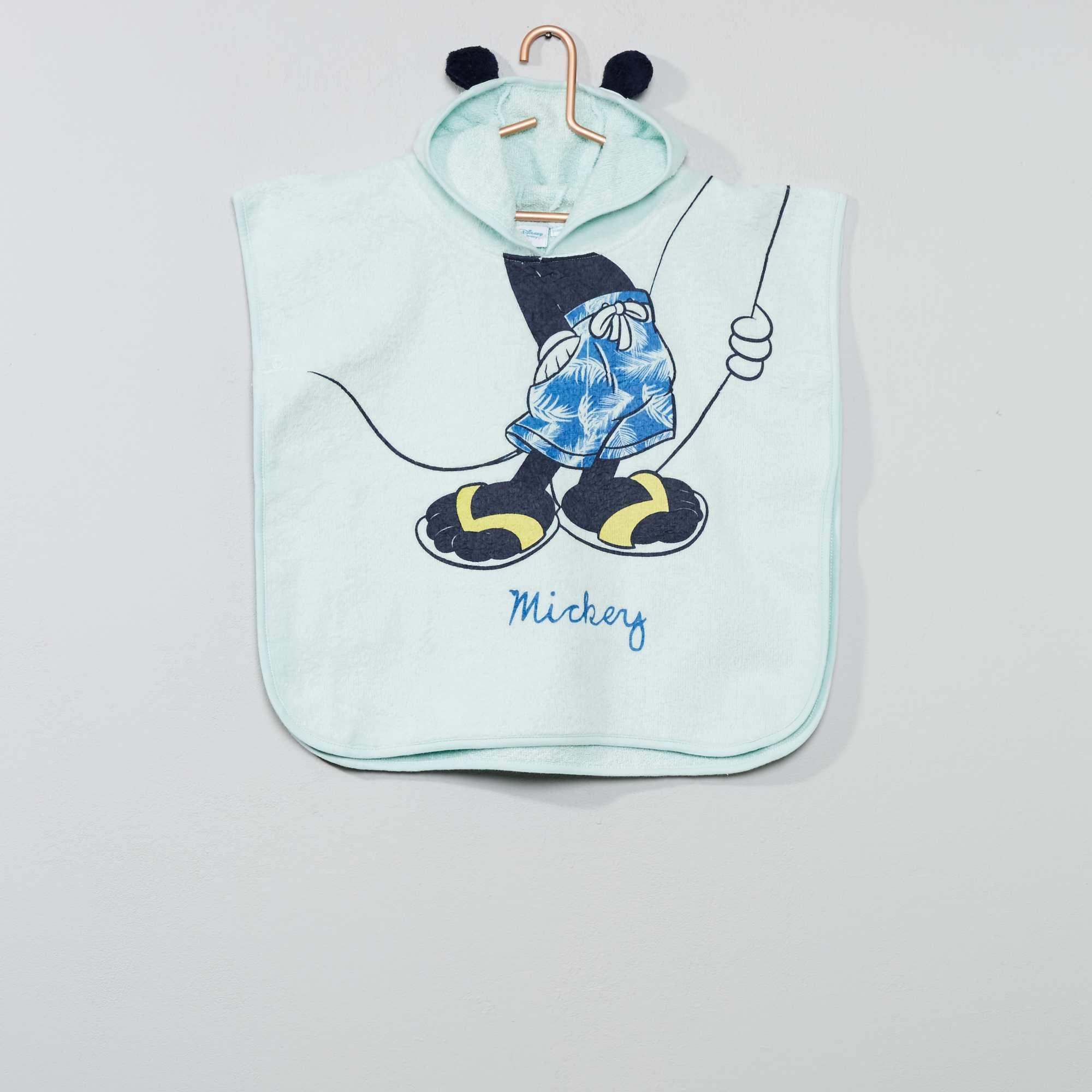 Mantella da bagno topolino neonato blu kiabi u ac