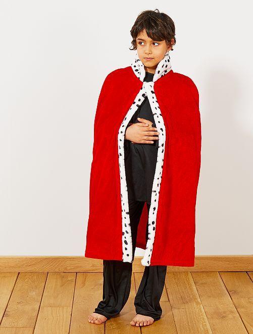 Mantello da Re                             rosso