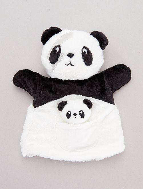 Marionetta 'panda' rocker                                         NERO