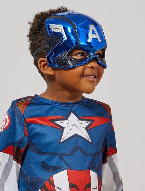 Maschera 'Capitan America'                             blu