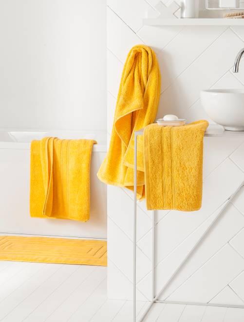 Maxi telo da bagno                                                                                                                 giallo