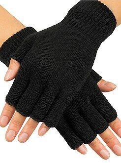 Sciarpe, guanti, berretti - Mezziguanti lavorati a maglia - Kiabi