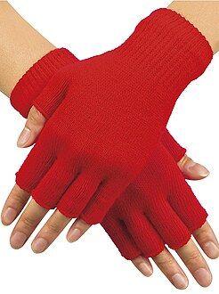 Sciarpe, guanti, berretti - Mezziguanti lavorati a maglia