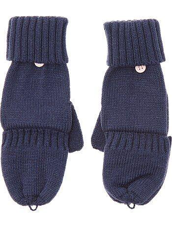 Mezziguanti maglia con copridita - Kiabi