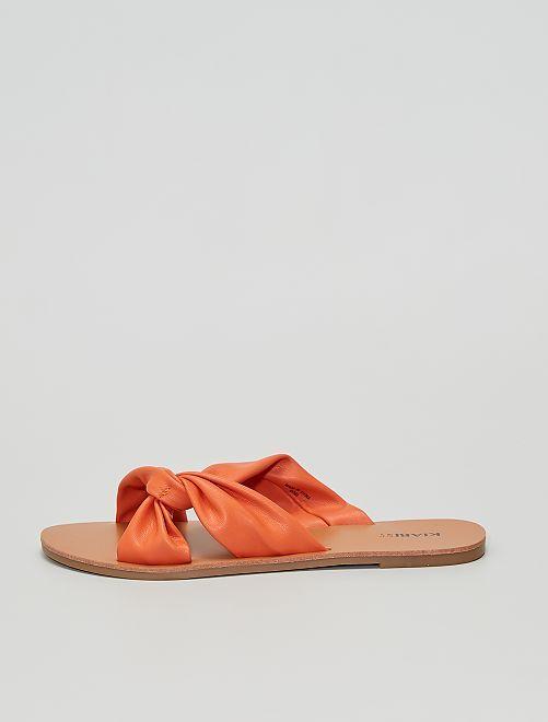 Mules                                         arancione
