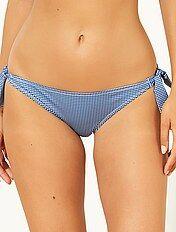Mutandine bikini da annodare mini Vichy